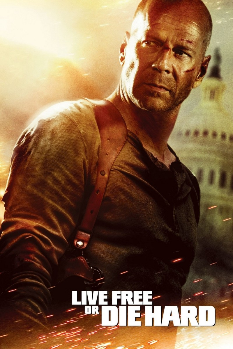 Live Free or Die Hard official poster