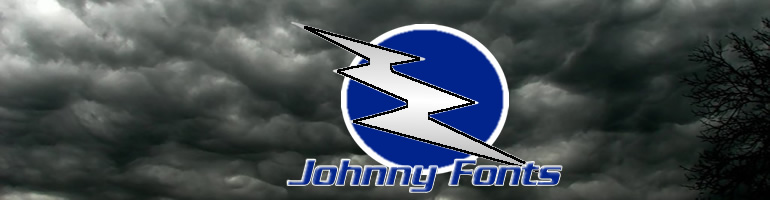 Johnny Fonts Master Header and logo