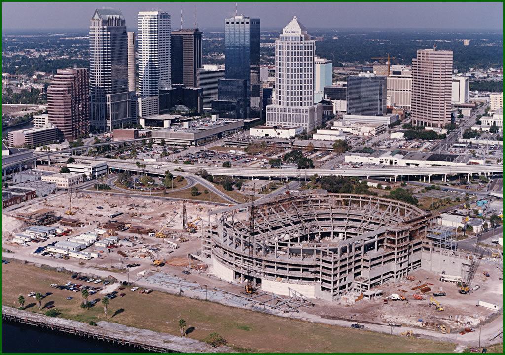 Amalie Arena construction photo